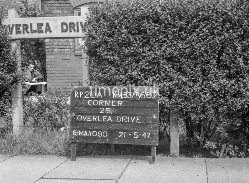 SJ869220A, Ordnance Survey Revision Point photograph in Greater Manchester
