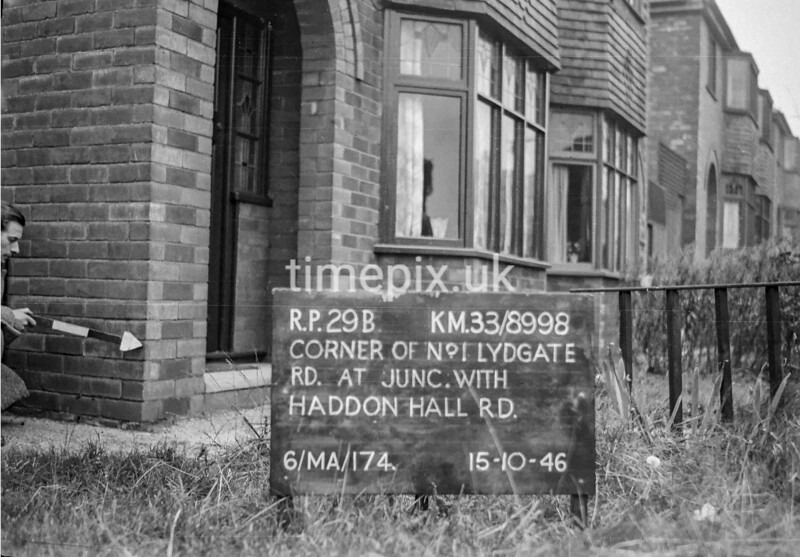 SJ899829B, Ordnance Survey Revision Point photograph in Greater Manchester