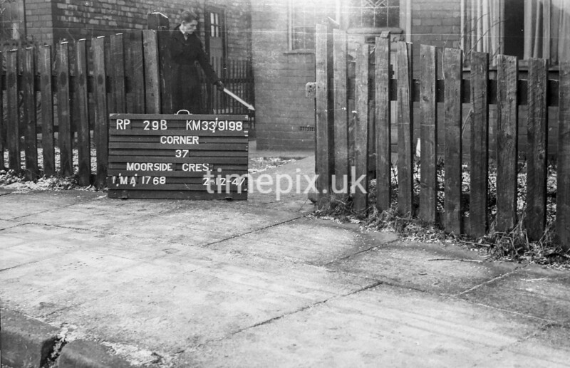 SJ919829B, Ordnance Survey Revision Point photograph in Greater Manchester