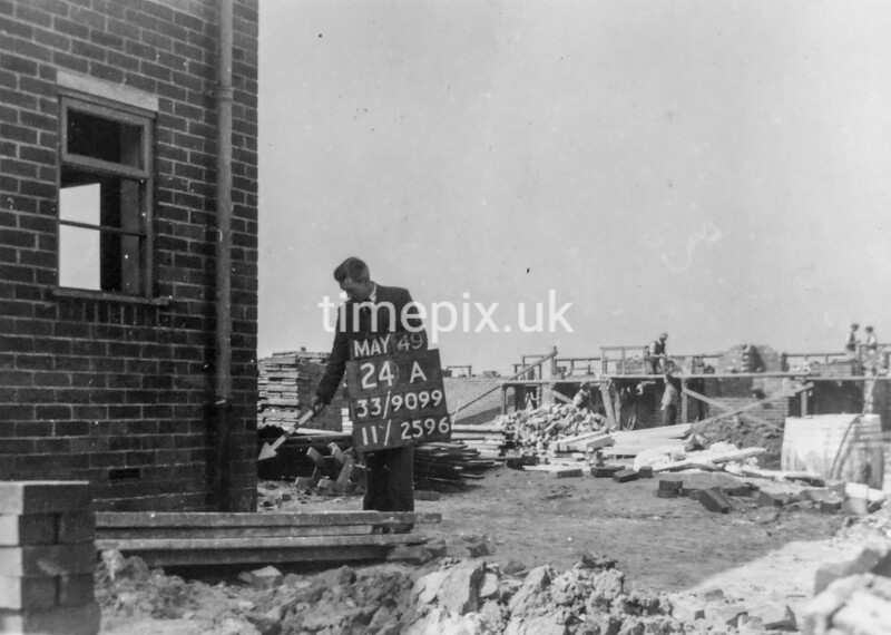 SJ909924A, Ordnance Survey Revision Point photograph in Greater Manchester