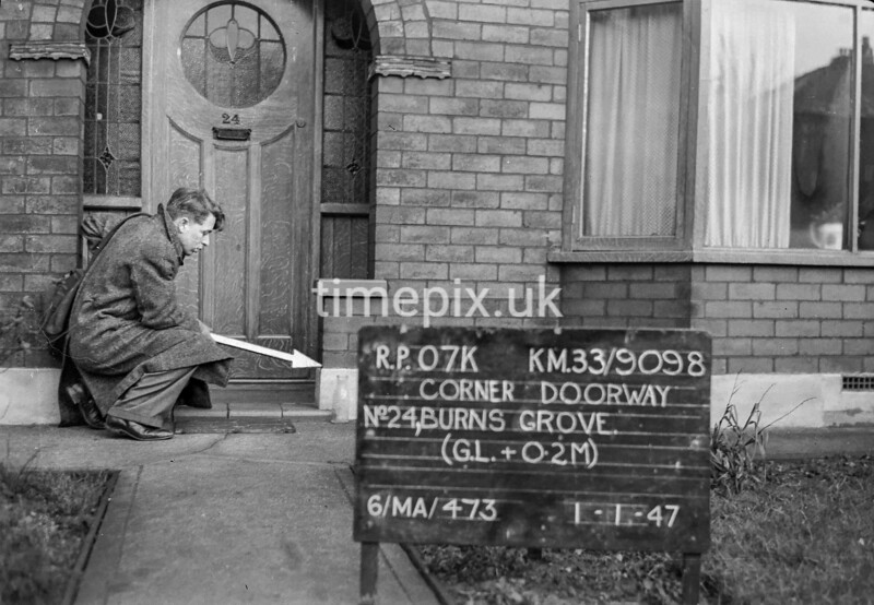 SJ909807K, Ordnance Survey Revision Point photograph in Greater Manchester