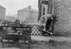 SJ909921K, Ordnance Survey Revision Point photograph in Greater Manchester