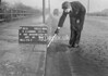 SJ919880A, Ordnance Survey Revision Point photograph in Greater Manchester