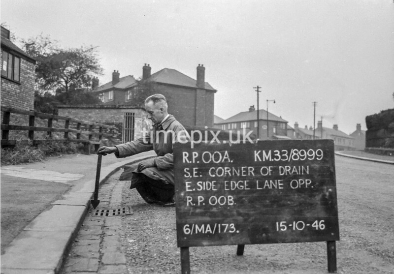 SJ899900A, Ordnance Survey Revision Point photograph in Greater Manchester