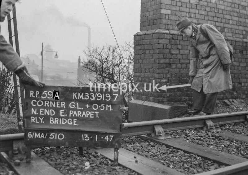 SJ919759A, Ordnance Survey Revision Point photograph in Greater Manchester
