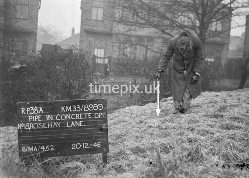 SJ899938A, Ordnance Survey Revision Point photograph in Greater Manchester