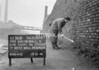 SJ899738B, Ordnance Survey Revision Point photograph in Greater Manchester