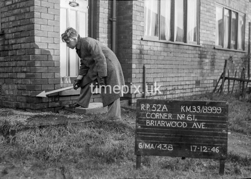 SJ899952A, Ordnance Survey Revision Point photograph in Greater Manchester