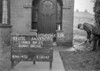 SJ909807L, Ordnance Survey Revision Point photograph in Greater Manchester