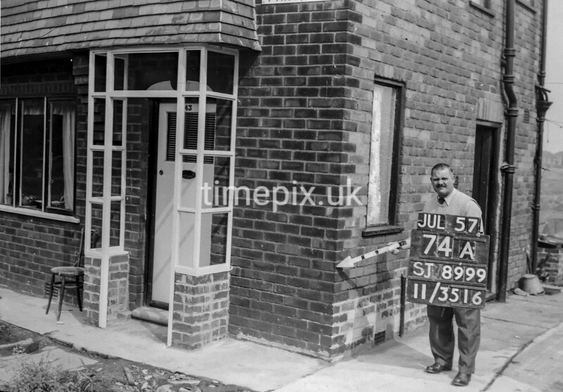 SJ899974A, Ordnance Survey Revision Point photograph in Greater Manchester