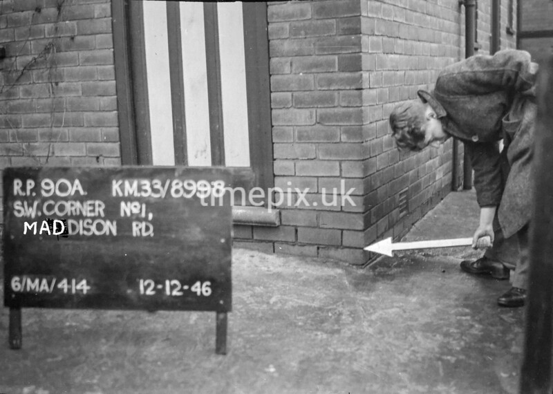 SJ899890A, Ordnance Survey Revision Point photograph in Greater Manchester