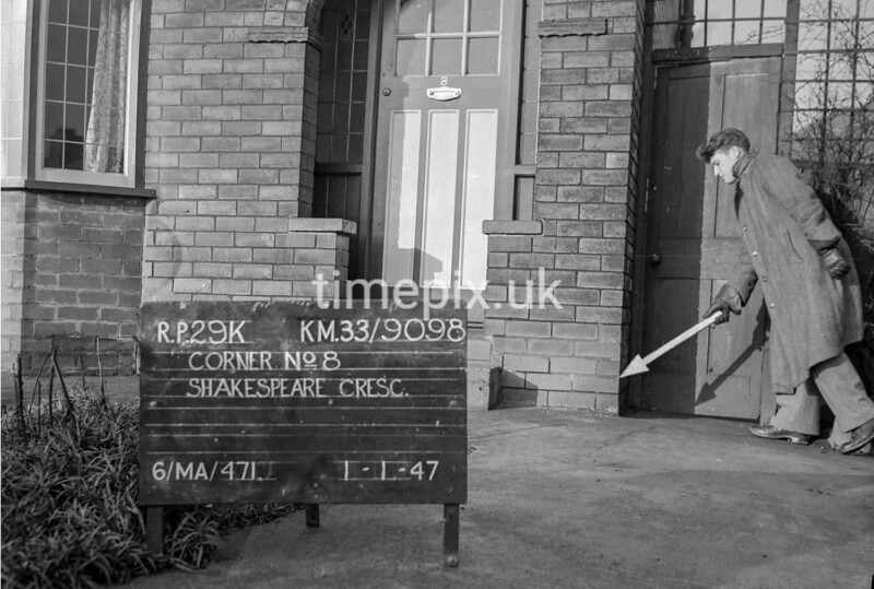 SJ909829K, Ordnance Survey Revision Point photograph in Greater Manchester
