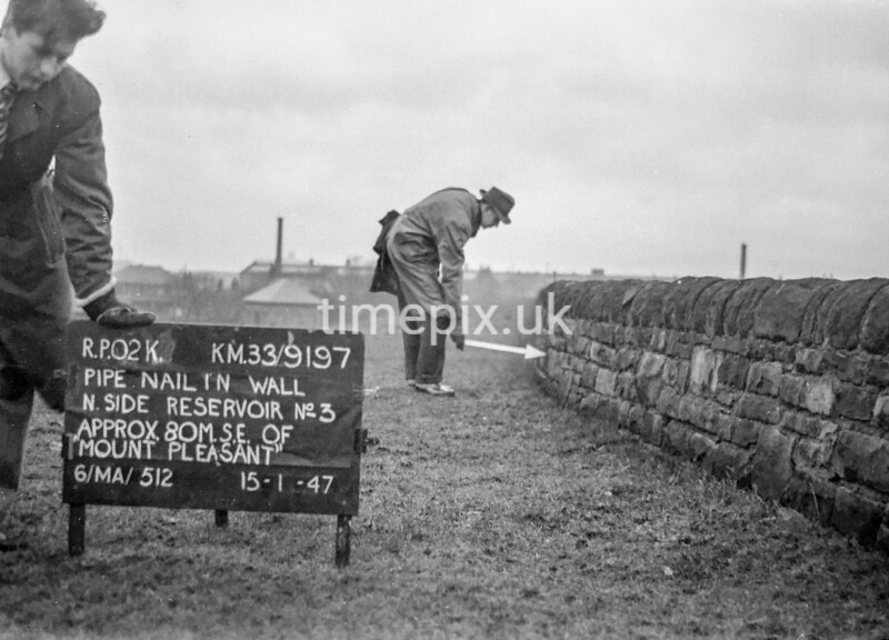 SJ919702K, Ordnance Survey Revision Point photograph in Greater Manchester
