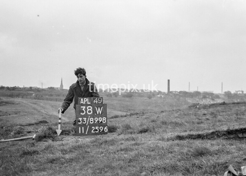 SJ899838W, Ordnance Survey Revision Point photograph in Greater Manchester