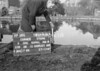 SJ919736B2, Ordnance Survey Revision Point photograph in Greater Manchester