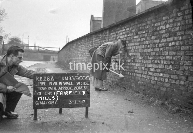 SJ909826A, Ordnance Survey Revision Point photograph in Greater Manchester