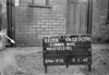 SJ909803K, Ordnance Survey Revision Point photograph in Greater Manchester