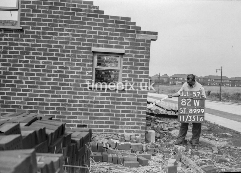 SJ899982W, Ordnance Survey Revision Point photograph in Greater Manchester
