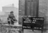 SJ909931L, Ordnance Survey Revision Point photograph in Greater Manchester