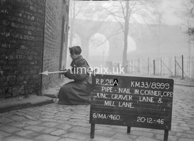 SJ899926A, Ordnance Survey Revision Point photograph in Greater Manchester