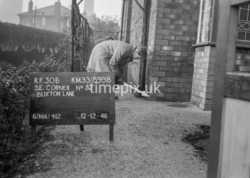 SJ899830B, Ordnance Survey Revision Point photograph in Greater Manchester