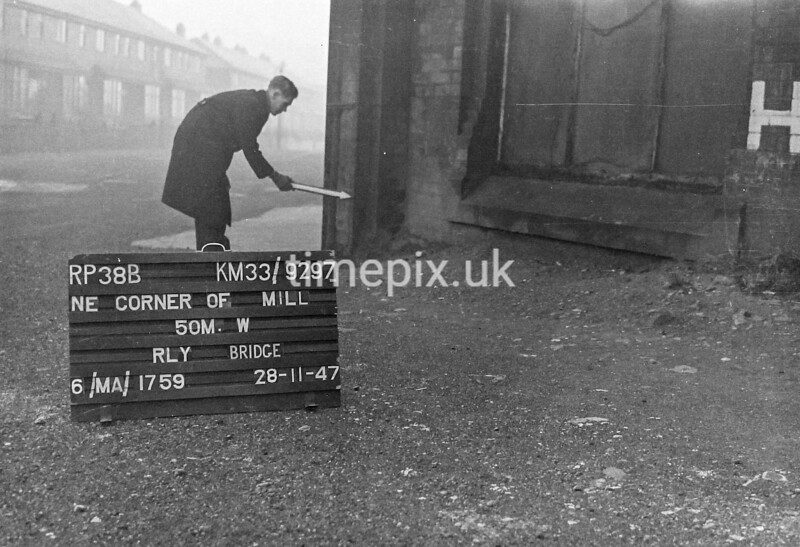 SJ929738B, Ordnance Survey Revision Point photograph in Greater Manchester
