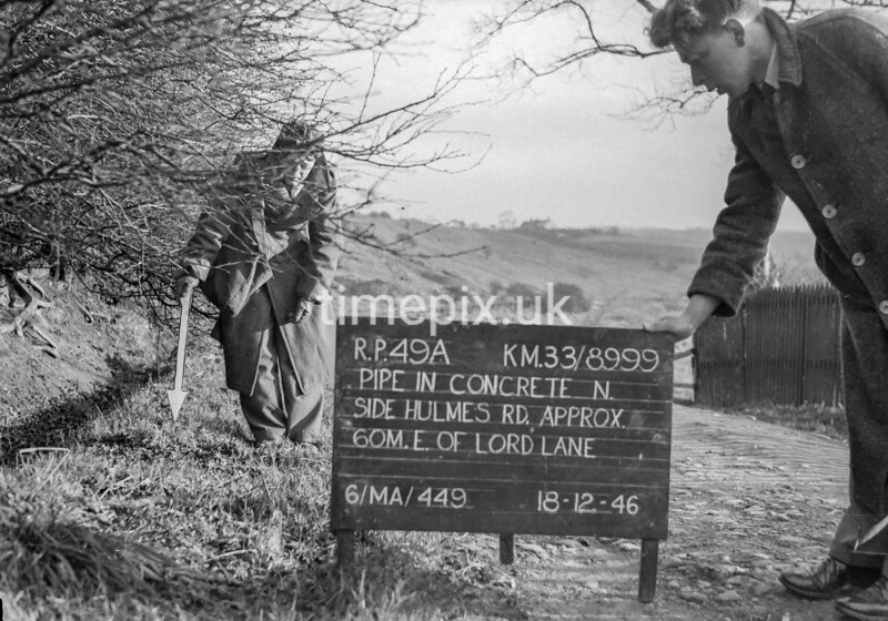 SJ899949A, Ordnance Survey Revision Point photograph in Greater Manchester