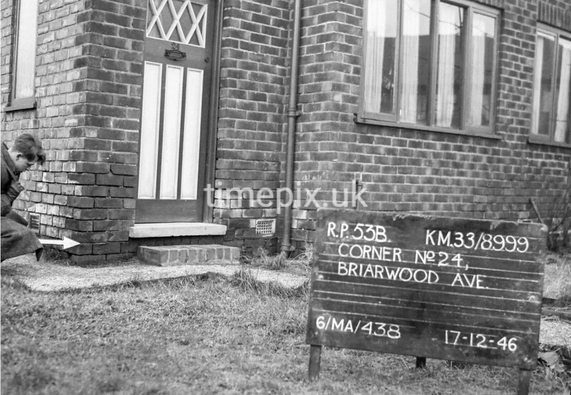 SJ899953B, Ordnance Survey Revision Point photograph in Greater Manchester