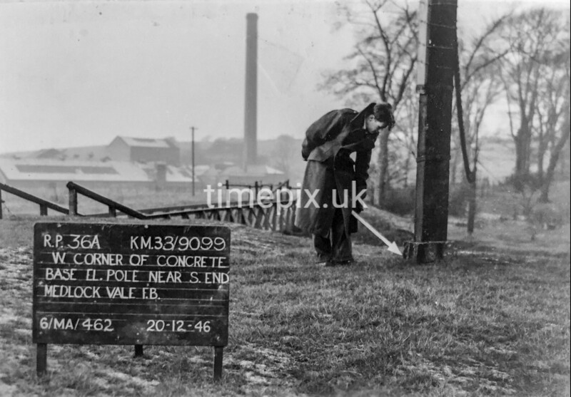 SJ909936A, Ordnance Survey Revision Point photograph in Greater Manchester