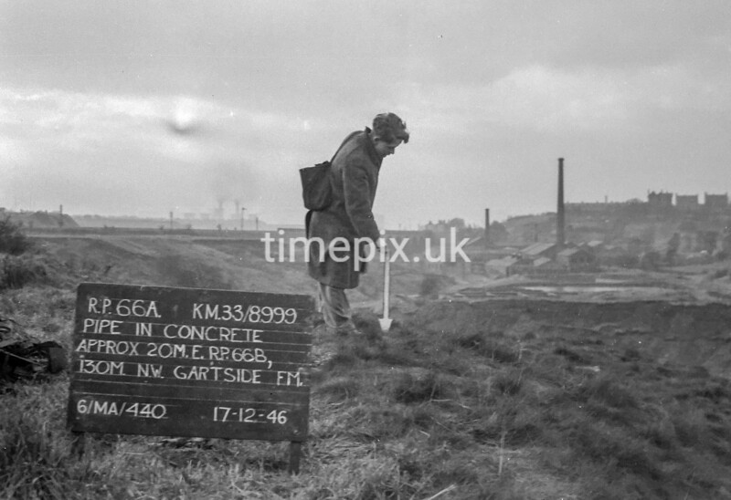 SJ899966A, Ordnance Survey Revision Point photograph in Greater Manchester