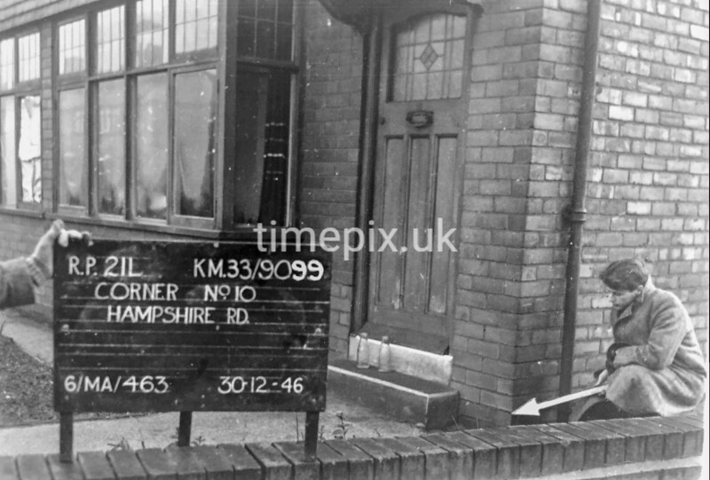 SJ909912L, Ordnance Survey Revision Point photograph in Greater Manchester