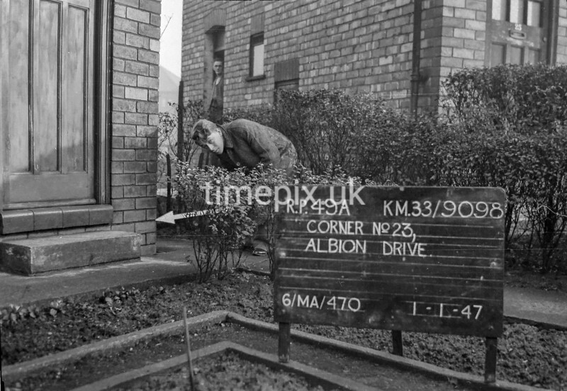 SJ909849A, Ordnance Survey Revision Point photograph in Greater Manchester