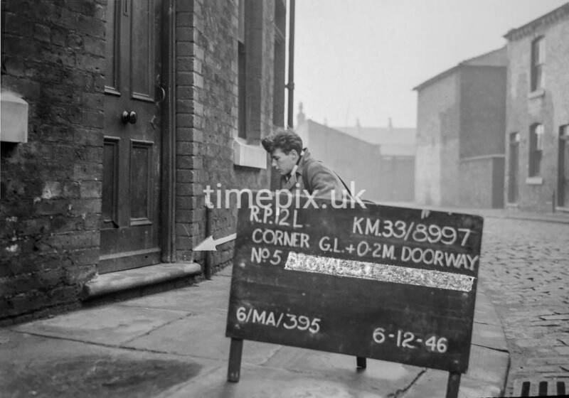 SJ899712L, Ordnance Survey Revision Point photograph in Greater Manchester
