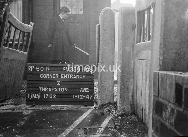 SJ919850K, Ordnance Survey Revision Point photograph in Greater Manchester