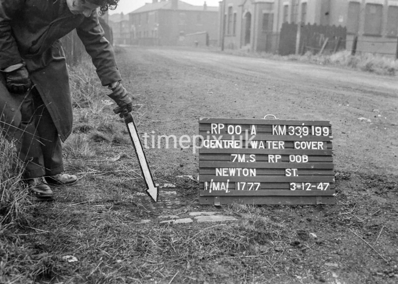 SJ919900A, Ordnance Survey Revision Point photograph in Greater Manchester