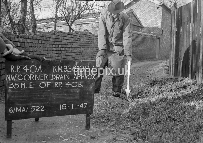 SJ909740A, Ordnance Survey Revision Point photograph in Greater Manchester