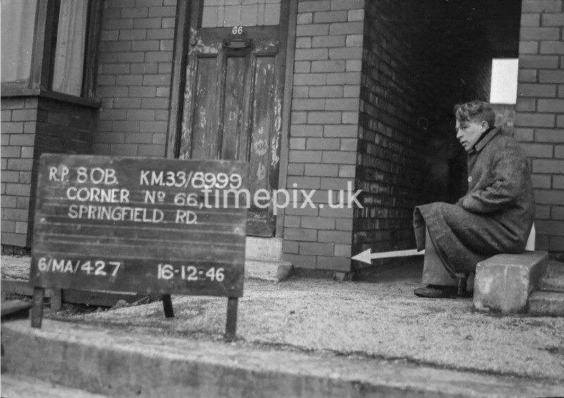 SJ899980B, Ordnance Survey Revision Point photograph in Greater Manchester