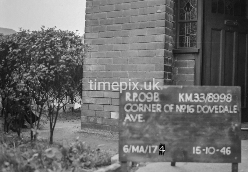 SJ899809B, Ordnance Survey Revision Point photograph in Greater Manchester