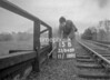 SJ848915B, Ordnance Survey Revision Point photograph in Greater Manchester