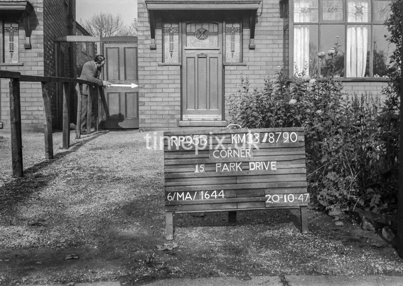SJ879095B, Ordnance Survey Revision Point photograph in Greater Manchester