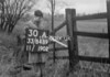 SJ848930A, Ordnance Survey Revision Point photograph in Greater Manchester