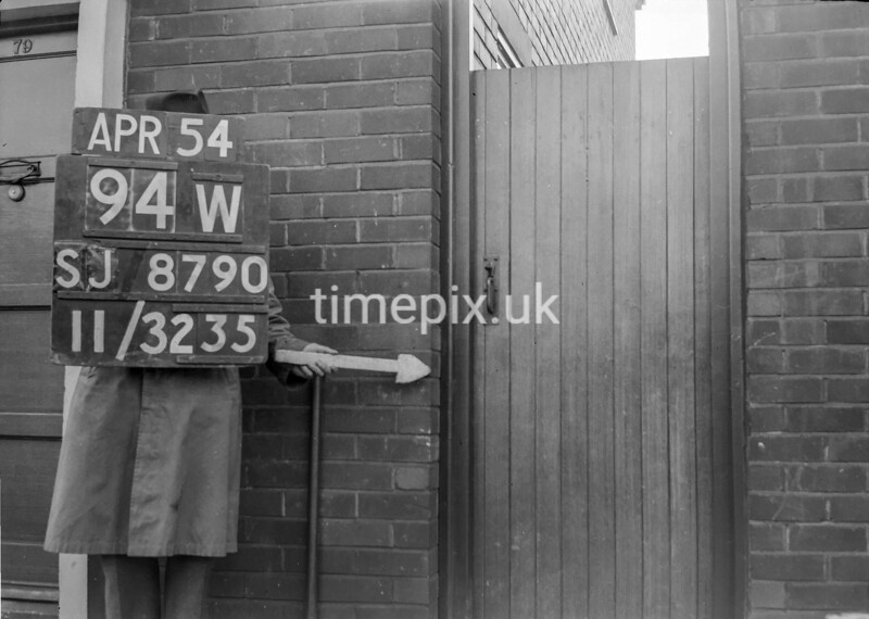 SJ879094W, Ordnance Survey Revision Point photograph in Greater Manchester