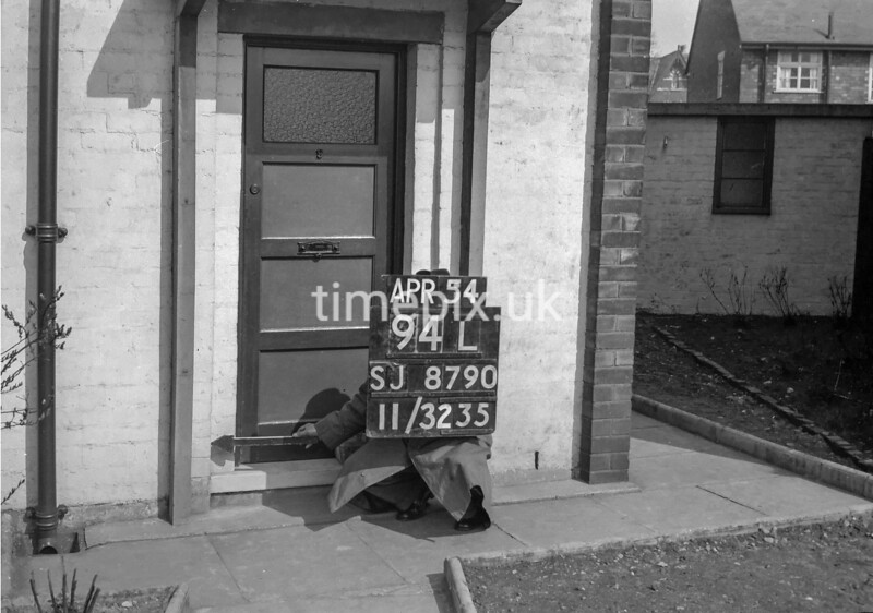 SJ879094L, Ordnance Survey Revision Point photograph in Greater Manchester