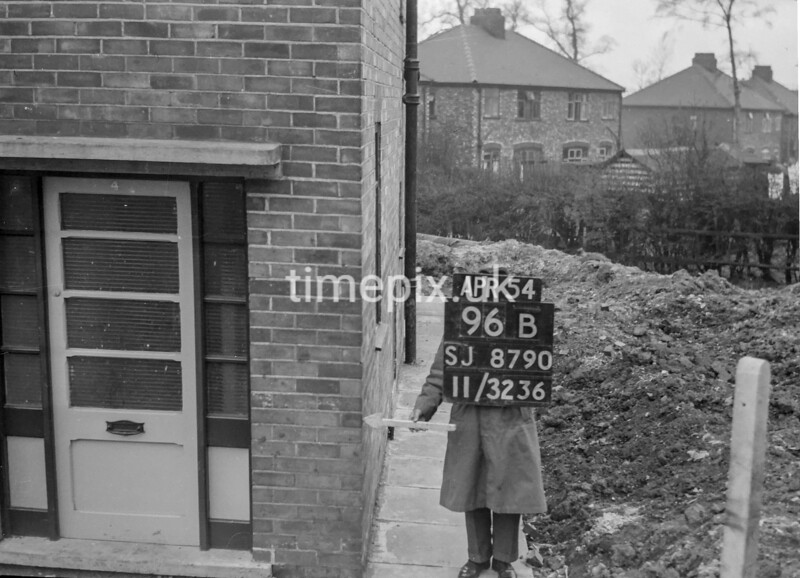 SJ879096B, Ordnance Survey Revision Point photograph in Greater Manchester