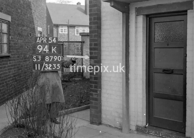 SJ879094K, Ordnance Survey Revision Point photograph in Greater Manchester