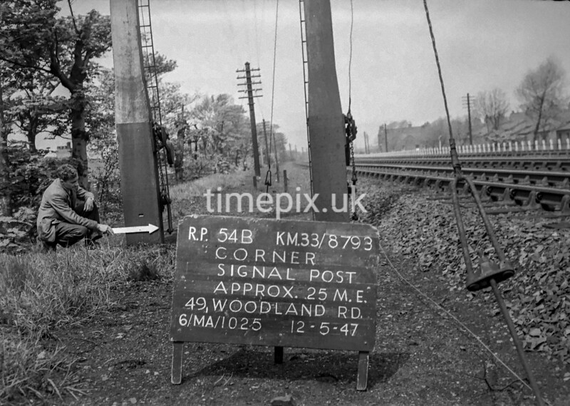 SJ879354B, Ordnance Survey Revision Point photograph in Greater Manchester