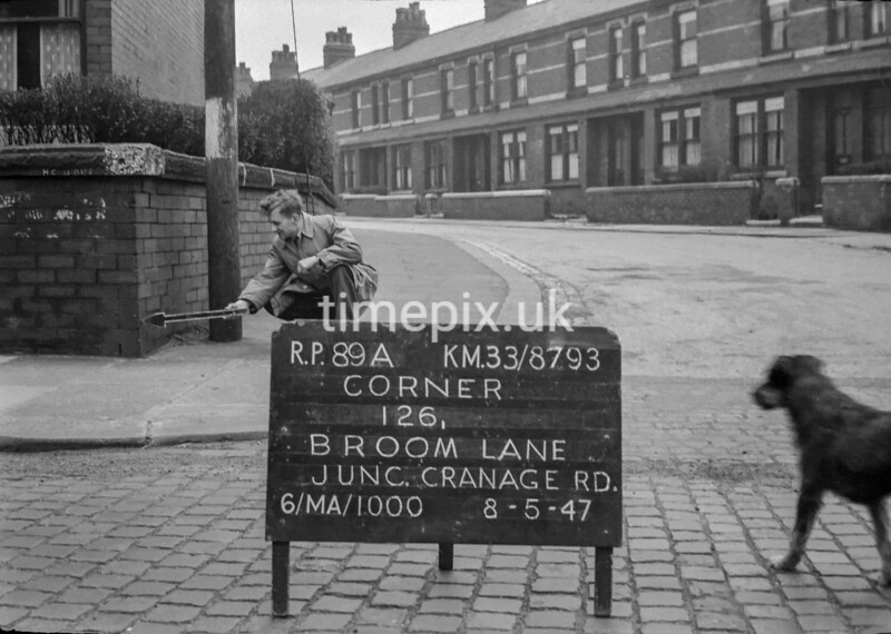 SJ879389A, Ordnance Survey Revision Point photograph in Greater Manchester