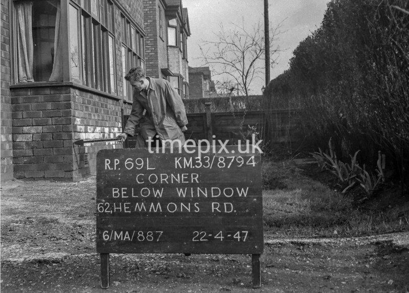 SJ879469L, Ordnance Survey Revision Point photograph in Greater Manchester