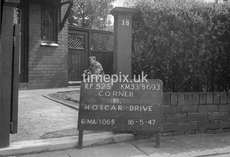 SJ869352S, Ordnance Survey Revision Point photograph in Greater Manchester