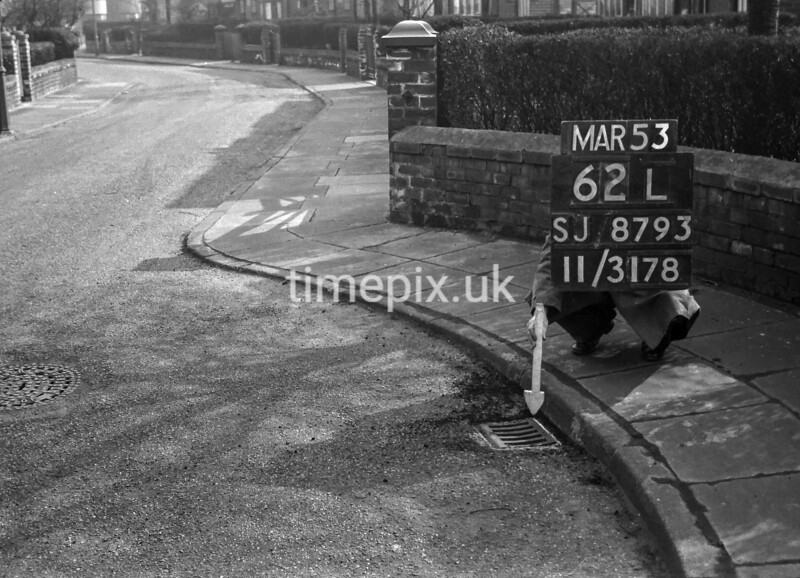 SJ879362L, Ordnance Survey Revision Point photograph in Greater Manchester